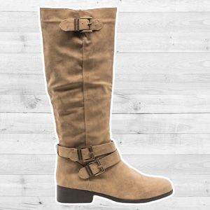 Quipid Classic Buckle Riding Boots